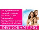 Deodorante BIO Naturale (spray, roll on)