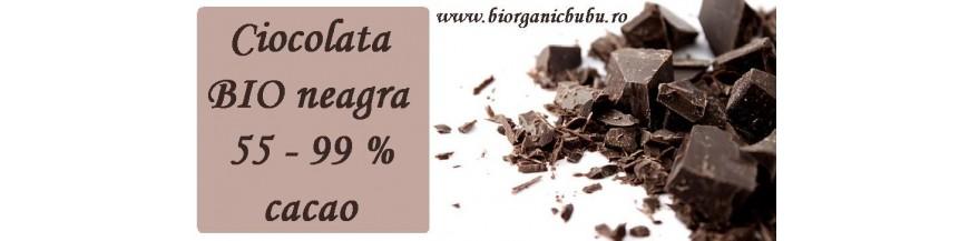 Ciocolata neagra BIO fara zahar