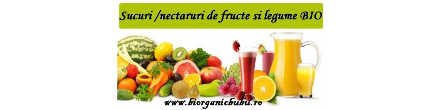 Suc BIO - Sirop si Nectar Organic