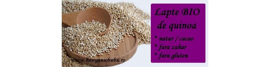 Lapte de quinoa BIO - bautura vegetala