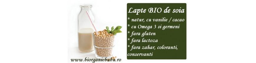 Lapte de soia BIO - bautura vegetala
