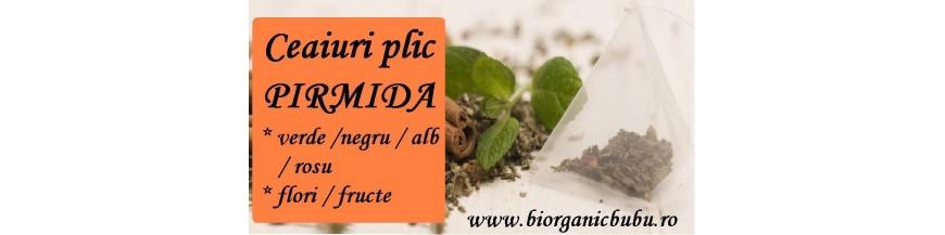 Ceaiuri piramida Premium BIO