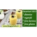 Desert vegetal (budinca) BIO fara gluten