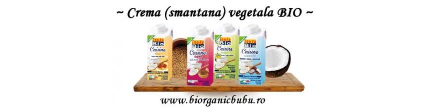 Crema (smantana) vegetala BIO pentru gatit