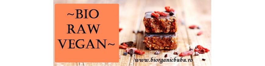 Produse BIO certificate Raw Vegan