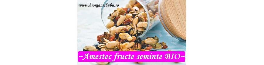 Amestec de fructe uscate, nuci si seminte BIO