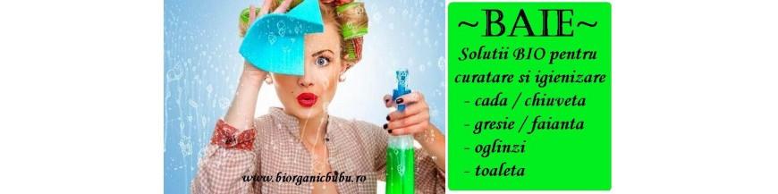 Baie - detergenti, dezinfectanti, solutii igienizare BIO