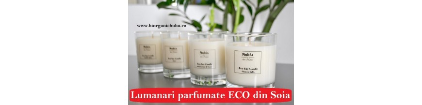 Odorizante si Lumanari parfumate BIO Naturale