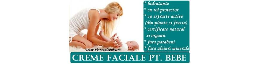 Creme hidratante BIO Naturale pt bebelusi si copii