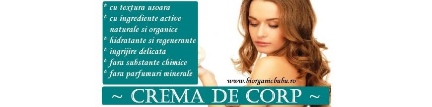 Creme hidratante BIO pentru corp