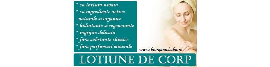 Lotiuni hidratante BIO pentru corp