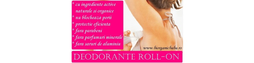 Deodorant roll on BIO Natural