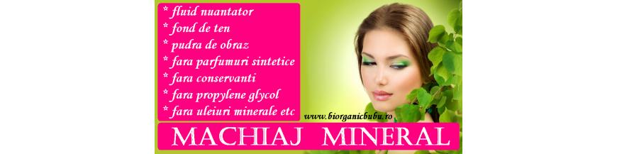 Pudre si farduri de obraz BIO minerale