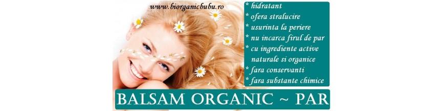 Balsamuri si tratamente bio naturale pentru par