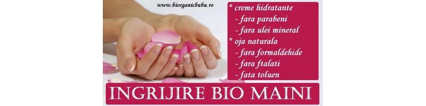 Creme de maini si lacuri de unghii BIO Naturale