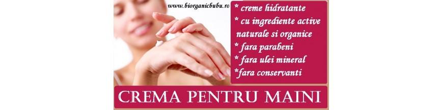 Creme hidratante pt maini - BIO Naturale