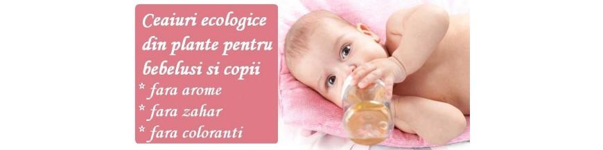 Ceai BIO pentru bebelusi si copii