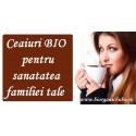 Ceai BIO plic sau vrac pentru intreaga familie