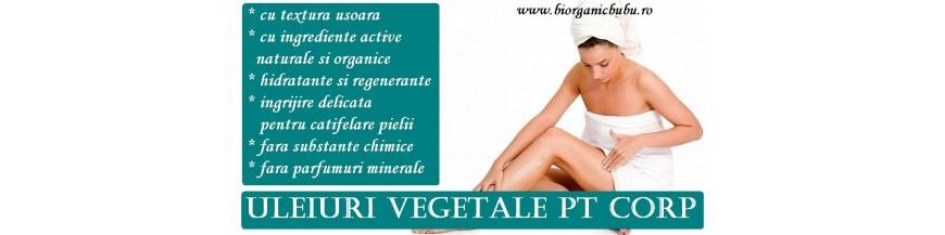 Uleiuri vegetale cosmetice BIO si naturale