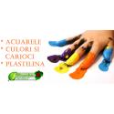 Acuarele ECO, culori, plastilina, jocuri de creatie