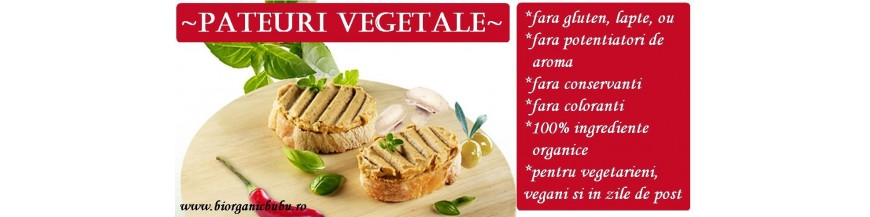 Pate vegetal BIO - pateuri de post