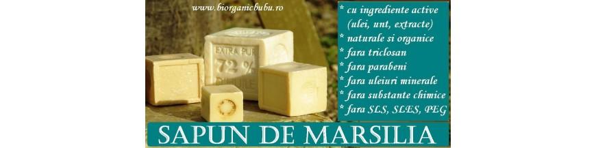 Sapun lichid de Marsilia BIO Natural