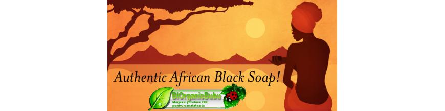 Sapun lichid Negru African din Ghana