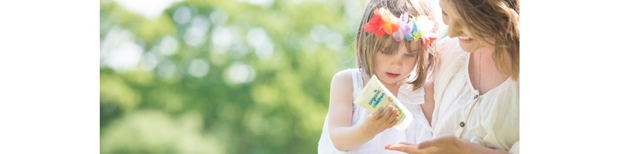 Protectie solara naturala BIO pt bebelusi si copii