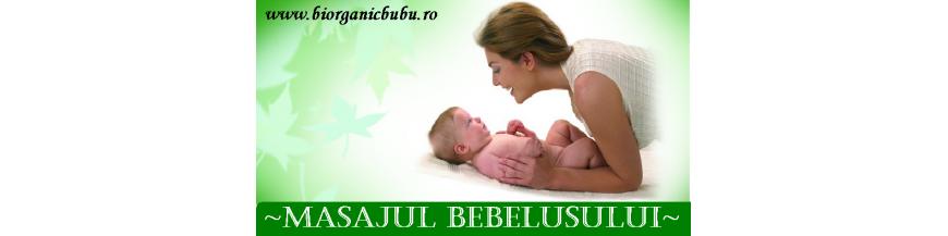 Masajul bebelusului - creme, lotiuni, unturi, uleiuri BIO