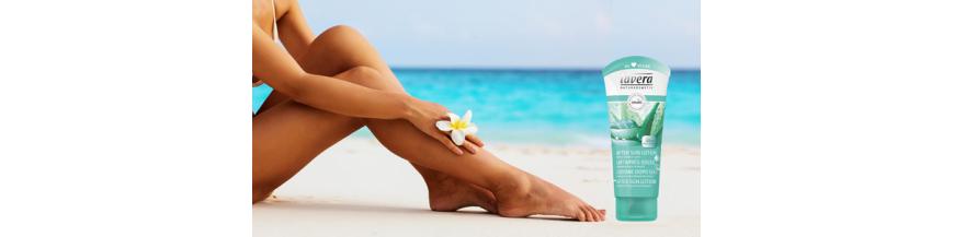 Cosmetice BIO dupa plaja (after sun)