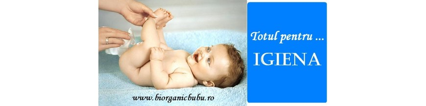 Igiena bebelusilor si copiilor - cosmetice bio