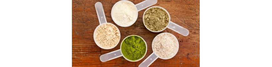 Pulberi proteice BIO si naturale