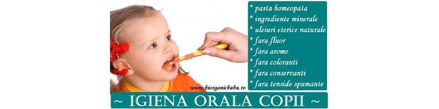 Igiena orala BIO fara fluor bebelusi si copii