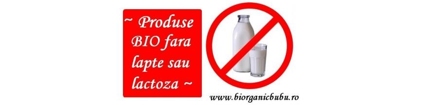 Produse BIO FARA lapte (lactoza, cazeina)