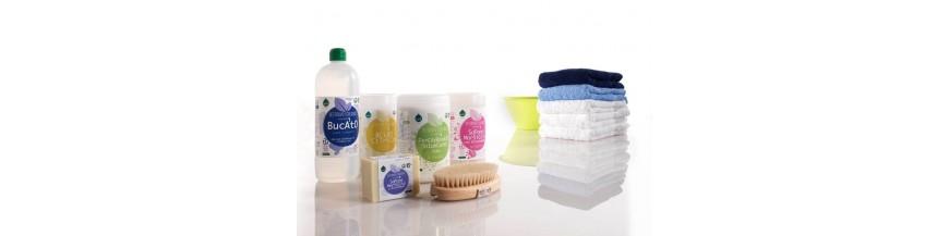 Detergenti BIO, balsam de rufe si inalbitor Oxigen activ