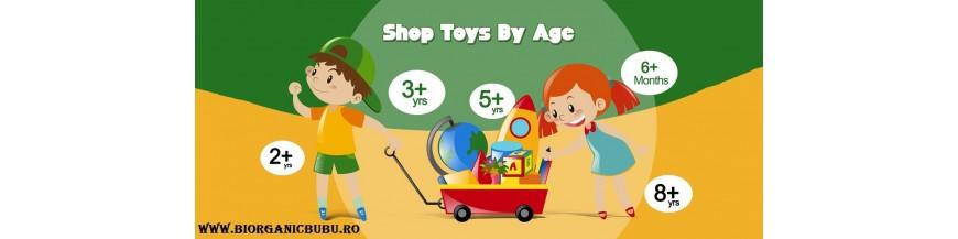 Cumpara jucarii educative eco friendly dupa varsta copilului