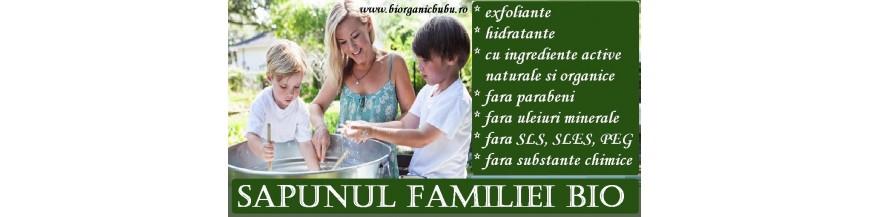 Sapunuri solide si lichide BIO Naturale