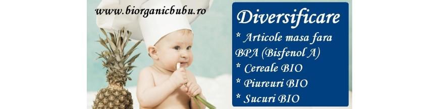 Diversificare bebelusi BIO